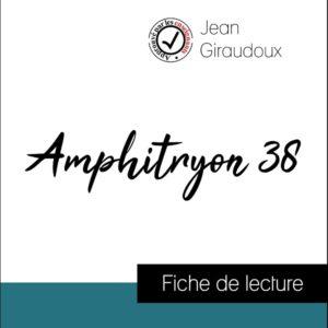 image couverture fiche de lecture amphitryon 38 de jean giraudoux