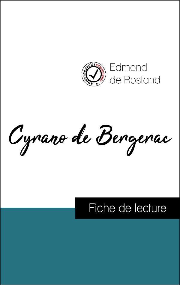 image couverture fiche de lecture cyrano de bergerac de rostand