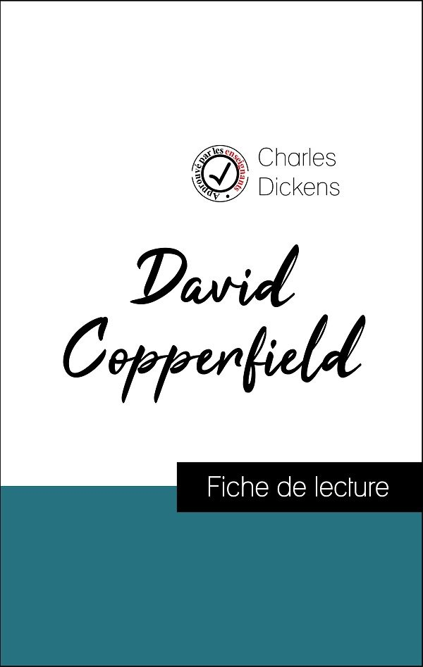 image couverture fiche de lecture david copperfield de charles dickens