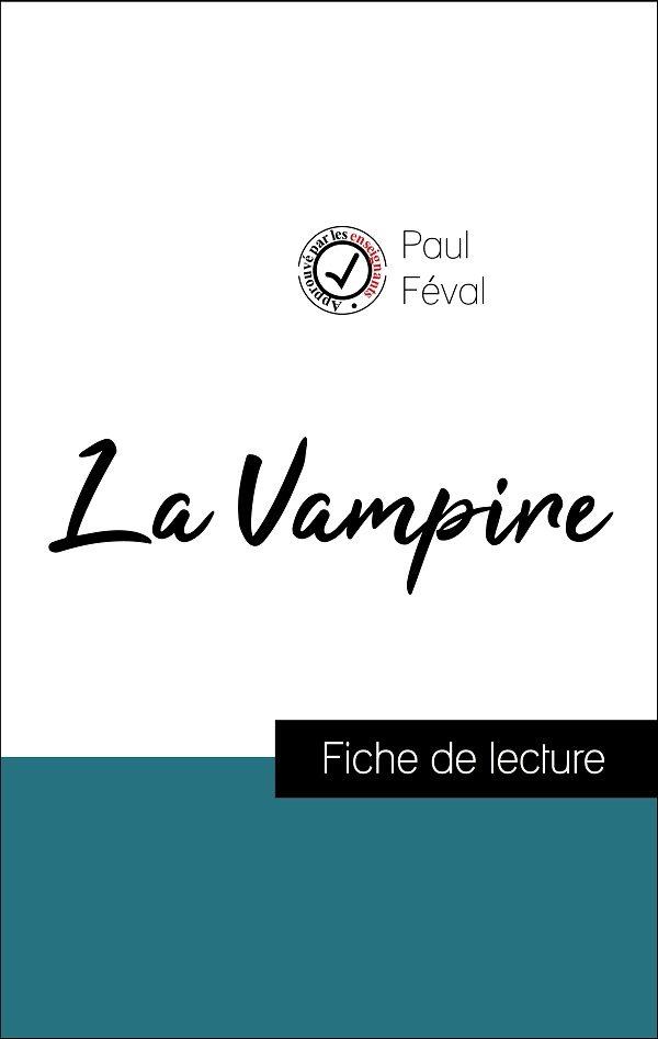 image couverture fiche de lecture la vampire de paul féval