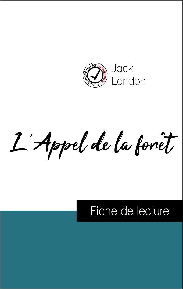 image couverture fiche de lecture l'appel de la forêt de jack london