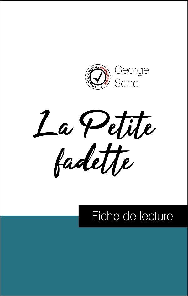 image couverture fiche de lecture la petite fadette de george sand