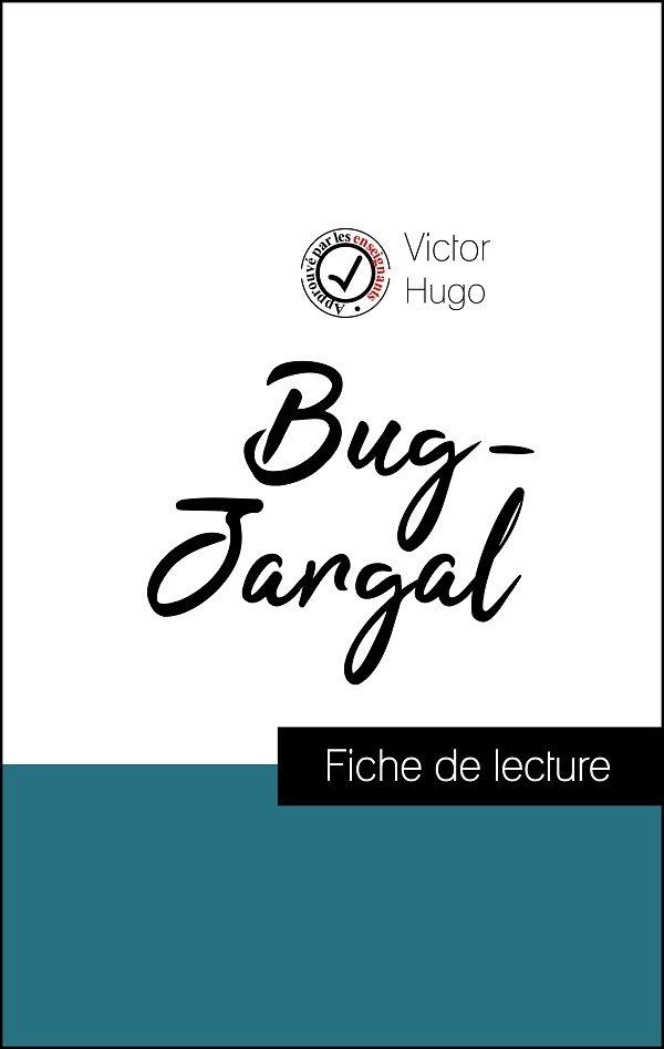 image couverture fiche de lecture bug-jargal de victor hugo