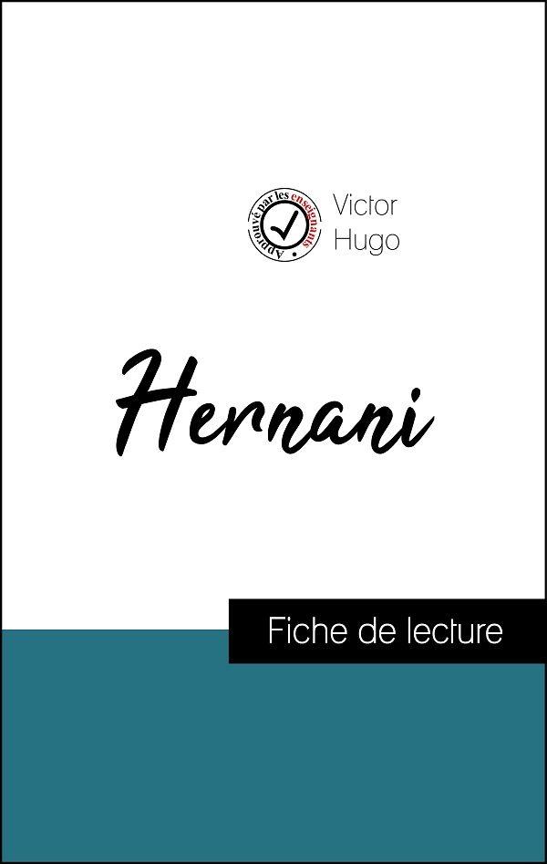image couverture fiche de lecture hernani de victor hugo