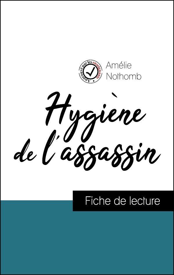 image couverture pack réussite hygiène de l'assassin de amélie nothomb
