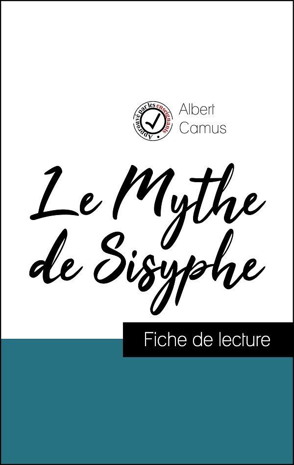 image couverture fiche de lecture le mythe de sisyphe de albert camus