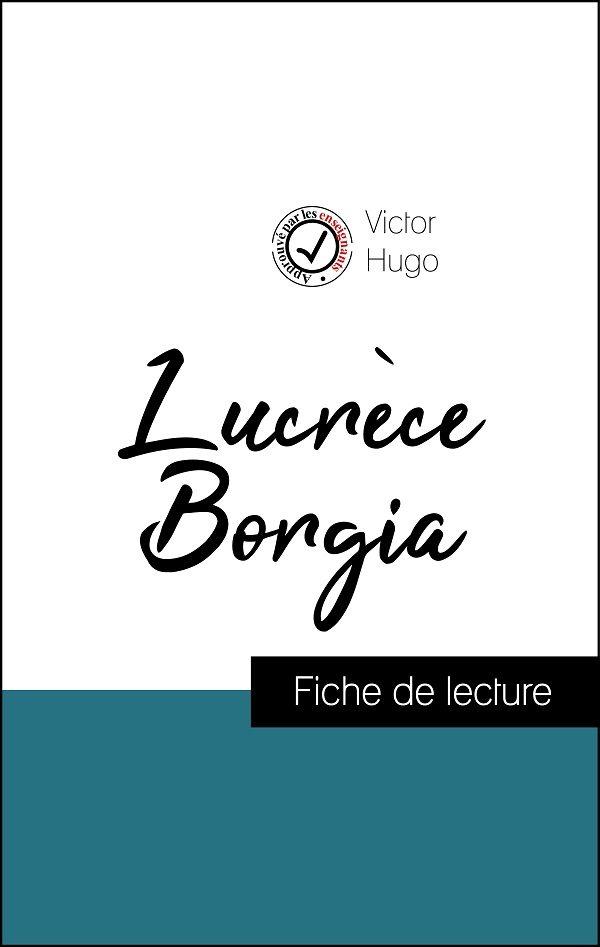 image couverture fiche de lecture lucrèce borgia de victor hugo