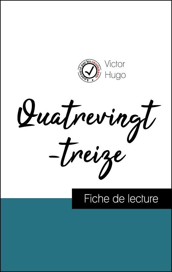 image couverture fiche de lecture Quatrevingt-treize de victor hugo