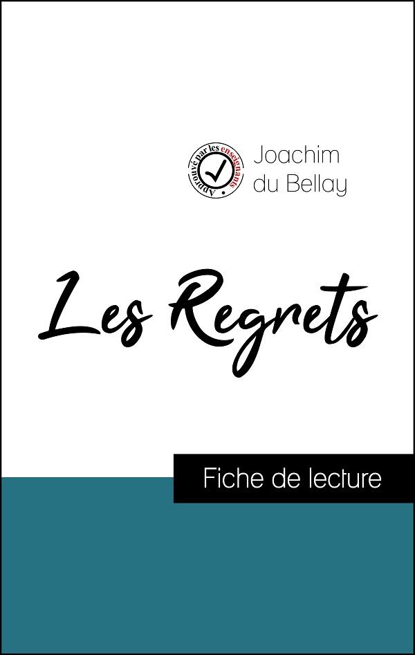 image couverture fiche de lecture les regrets de joachim du bellay