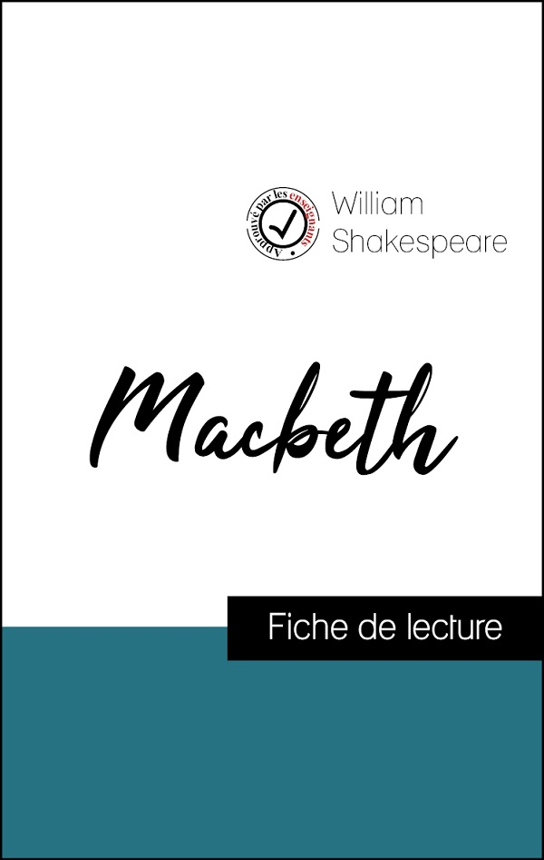 image couverture fiche de lecture macbeth de shakespeare