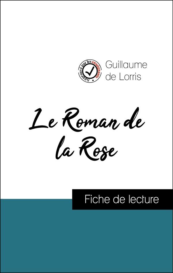 image couverture fiche de lecture le roman de la rose de guillaume de lorris