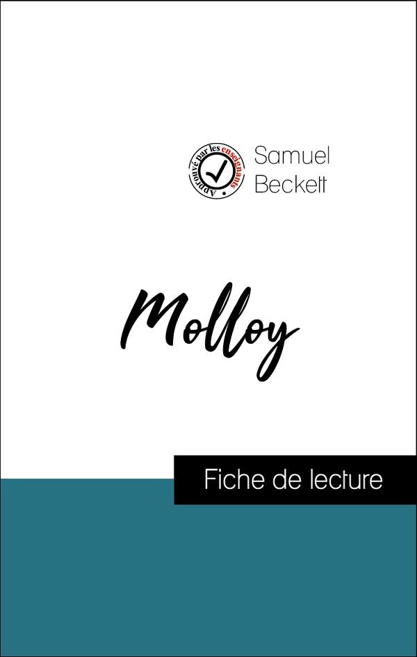 image couverture fiche de lecture molloy de samuel beckett
