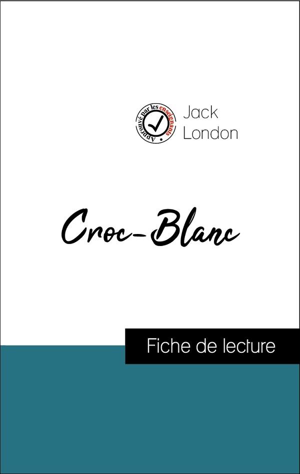 image couverture fiche de lecture croc-blanc de jack london
